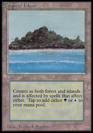 Tropical Island, Alpha
