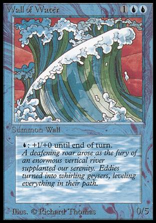 Wall of Water, Alpha