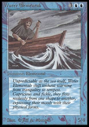 Water Elemental, Alpha