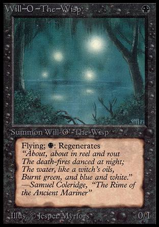 Will-O'-The-Wisp, Alpha