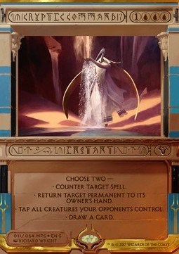 Cryptic Command, Amonkhet Invocations