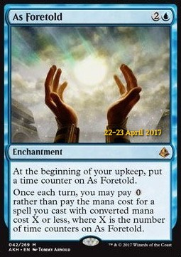 As Foretold, Amonkhet Promos