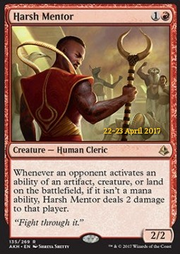 Harsh Mentor, Amonkhet Promos