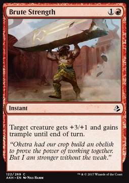Brute Strength, Amonkhet