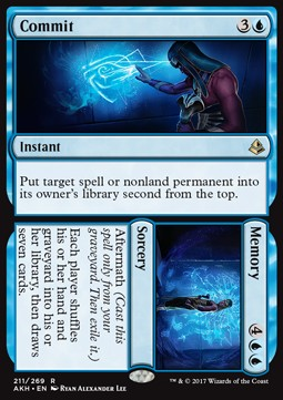 Commit // Memory, Amonkhet