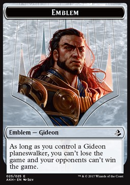 Gideon of the Trials Emblem, Amonkhet