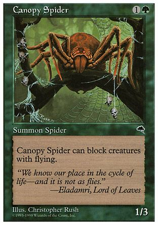 Canopy Spider, Anthologies