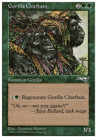 Gorilla Chieftain, Anthologies