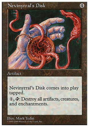 Nevinyrral's Disk, Anthologies