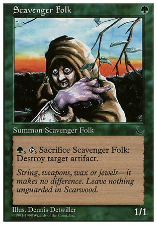 Scavenger Folk, Anthologies