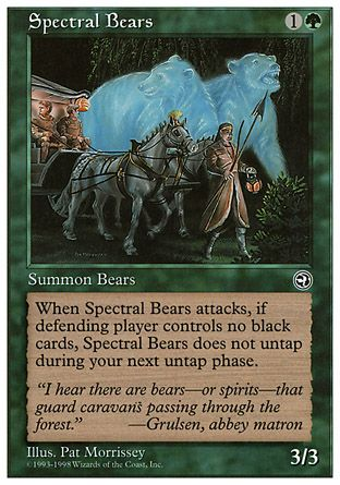 Spectral Bears, Anthologies