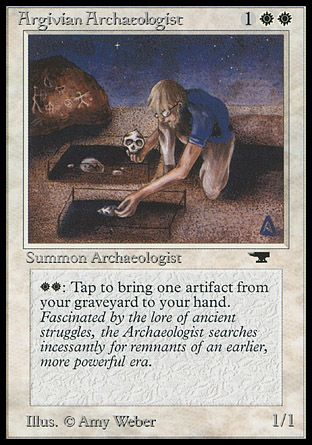 Argivian Archaeologist, Antiquities