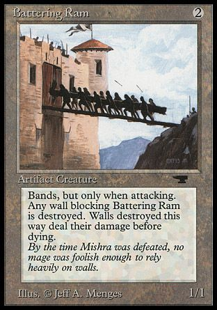 Battering Ram, Antiquities