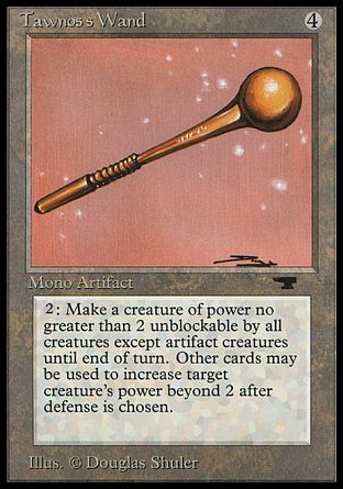 Tawnos's Wand, Antiquities