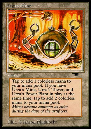 Urza's Mine, Antiquities