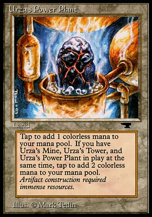 Urza's Power Plant, Antiquities