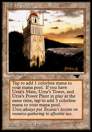 Urza's Tower, Antiquities