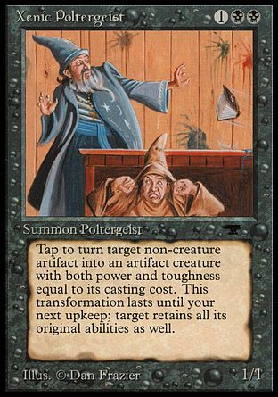 Xenic Poltergeist, Antiquities