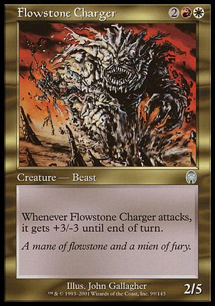 Flowstone Charger, Apocalypse