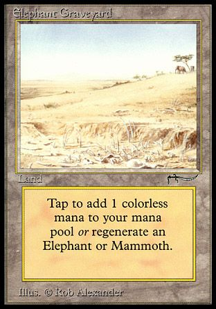 Elephant Graveyard, Arabian Nights