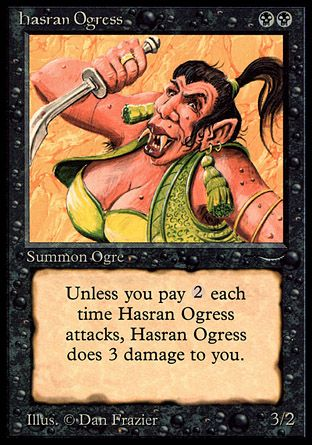 Hasran Ogress, Arabian Nights