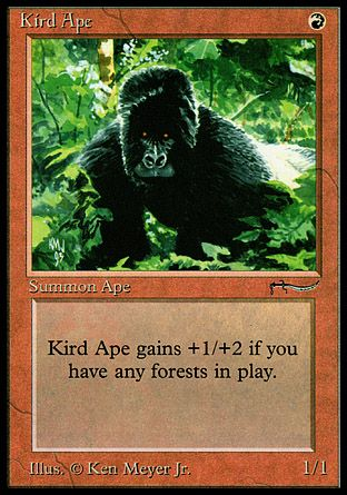 Kird Ape, Arabian Nights
