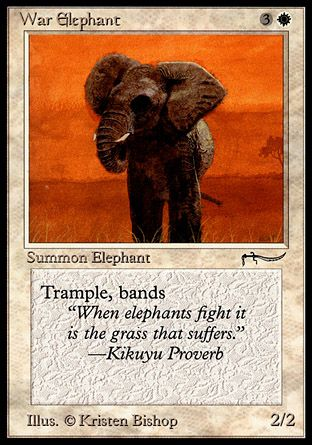 War Elephant, Arabian Nights