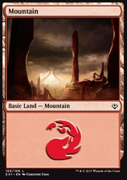 Mountain, Archenemy Nicol Bolas