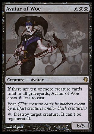 Avatar of Woe, Archenemy