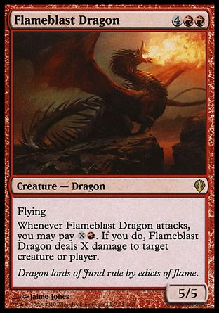 Flameblast Dragon, Archenemy