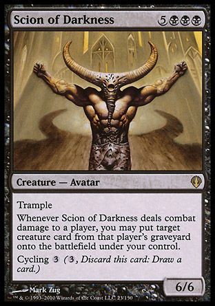 Scion of Darkness, Archenemy