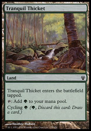 Tranquil Thicket, Archenemy