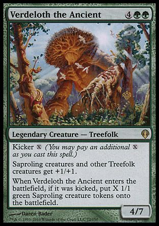 Verdeloth the Ancient, Archenemy