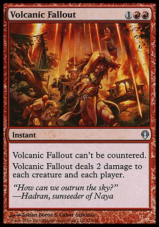 Volcanic Fallout, Archenemy