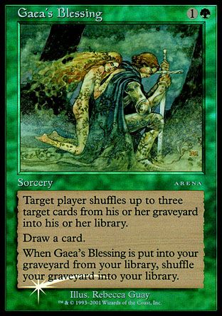 Gaea's Blessing, Arena League
