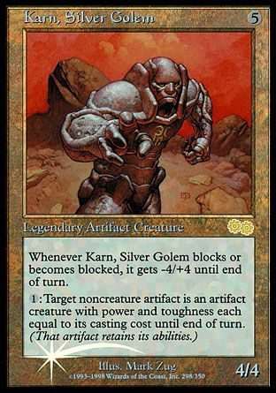 Karn, Silver Golem, Arena League