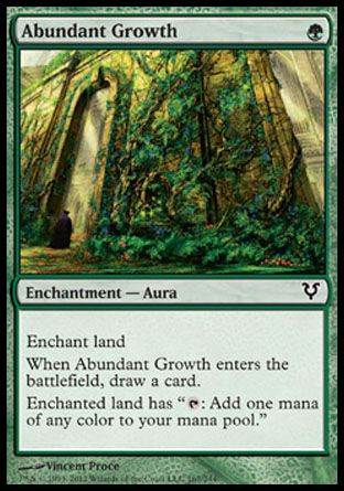 Abundant Growth, Avacyn Restored