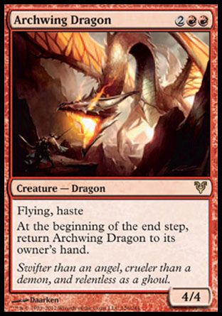 Archwing Dragon, Avacyn Restored