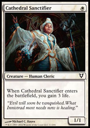 Cathedral Sanctifier, Avacyn Restored