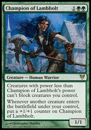 Champion of Lambholt, Avacyn Restored