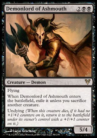 Demonlord of Ashmouth, Avacyn Restored