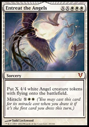 Entreat the Angels, Avacyn Restored