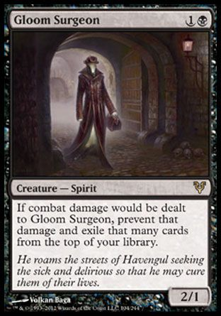 Gloom Surgeon, Avacyn Restored