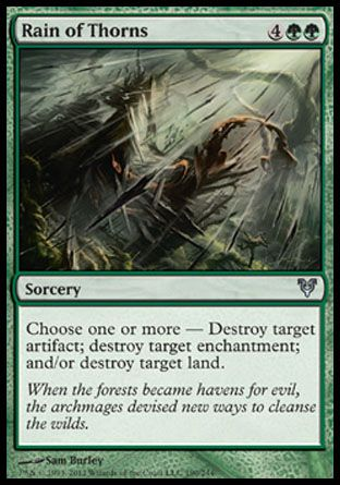 Rain of Thorns, Avacyn Restored