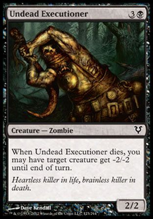 Undead Executioner, Avacyn Restored