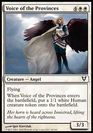 Voice of the Provinces, Avacyn Restored