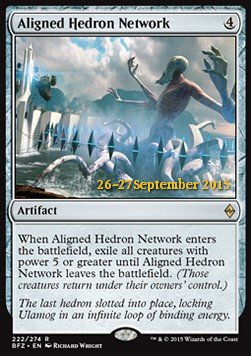 Aligned Hedron Network, Battle for Zendikar Promos