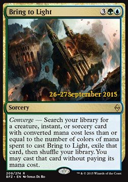 Bring to Light, Battle for Zendikar: Promos