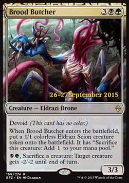 Brood Butcher, Battle for Zendikar Promos