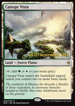 Canopy Vista, Battle for Zendikar: Promos